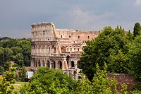 Colosseum is an elliptical amphitheatre in the centre of the city of Rome, Italy.