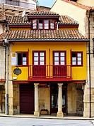 Aviles - beautiful small city in Asturias Region, northen Spain.
