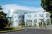 Lycée Georges Fréche by Massimiliano Fuksas Montpellier France.