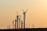 Wind generators. Avila, Spain.