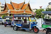 Auto Rickshaw Tuk Tuk in Bangkok.