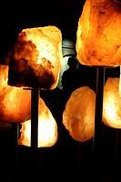 Salt Crystals, Salt Mine, Halstatt, Austria, Europe.
