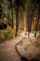 Saxon Switzerland in Germany.
