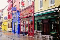 Typical street, Cork, Republic of Ireland