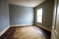 Bedroom prior to renovation, Property Released, Toronto, Ontario, Canada.