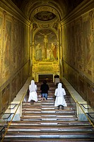 The Scala Sancta. Holy Stairs. Scala Santa. Rome, Italy.