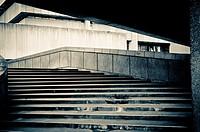 1960 Brutalist architecture, Paradise Place, Birmingham, UK.