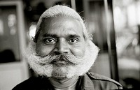A Mumbai character in Mumbai Bombay in Maharashtra in India in South Asia.