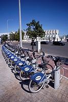 Valenbisi, bicycle public service in Valencia, Spain.