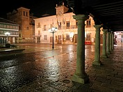 Plaza and Municipality of the town of Almagro, Ciudad Real, Castilla La Mancha, Spain, Europe.