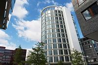 New Buildings at HafenCity Hamburg, Germany.