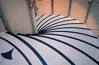 Spiral staircase, Tate Britain, London UK.
