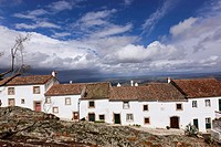 White houses, Marvao, Region Alentejo, Portugal