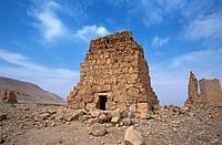 Towers of Yemliko, Valley of the Tombs, Palmyra, Syria