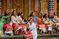 Young Balinese Dancers.