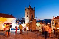 Medieval street fair at Belmonte, Portugal.