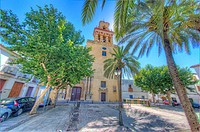 HDR of Iglesia de San Augustin, Church of San Augustin, Plaza San Augustin, Córdoba, Andalusia, Spain, Europe.