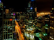 Burrard Street is a major thoroughfare in Vancouver, British Columbia, Canada. It is the central street of Downtown Vancouver and the Financial Distri...