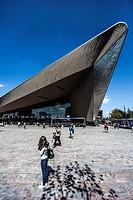 Rotterdam Central Station, The Netherlands, by architect team CS: a cooperation of Benthem Crouwel Architekten, Meyer en Van Schooten Architecten and ...