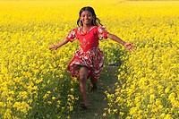 mustard field in Bangladesh.