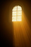 Saint Honorat church, 12thc., Inside, Alyscamps, Arles, 13 Bouches du Rhone, Provence, France.