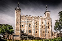The White Tower in the Tower of London complex.