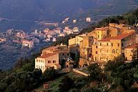 Costa, village in Balagne region, Upper Corsica, Northern Corsica, France, Europe.