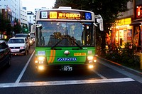 Tokyo bus, Japan