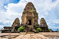 The East Mebon is a 10th Century temple, built during the reign of King Rajendravarman. It was dedicated to the Hindu god Shiva. Angkor Archaeological...