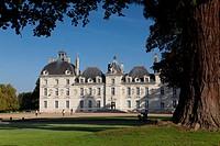 Castle of Cheverny, Indre-et-Loire, Centre, France.