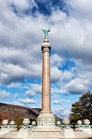 Battle Monument, West Point Military Academy campus, New York, USA.