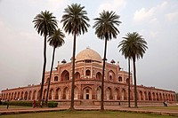 Humayun´s Tomb, UNESCO world heritage in Delhi, India, Asia.