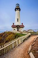 Pigeon Lighthouse, Northern California coast.