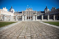 Spain, Madrid Province, Aranjuez, Royal Palace