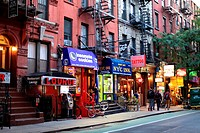 West Village, Macdougal street, Manhattan, New York City, New York, USA