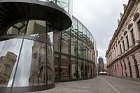 The German Historical Museum, DHM for short, and adjacent Exhibition Hall, designed by the Chinese-American architect I. M. Pei, which hosts temporary...