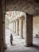 Castillo Palacio del Duque de Alburquerque. Cuéllar. Conjunto histórico. Segovia province. Castile-Leon. Spain.