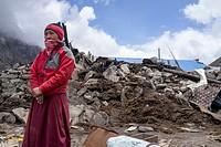April 2015 Nepal earthquake Devastation. Nepal