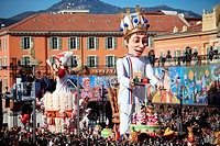 The carnival of Nice, Alpes-Maritimes, Côte d´Azur, French Riviera, France
