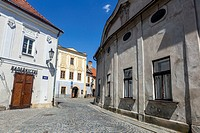 Historic old town of Jindrichuv Hradec, South Bohemia, Czech Republic.