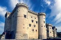 Europe. France. Bouche-du-Rhone. Alpilles. Tarascon. The medieval castle of King René, fifteenth century.