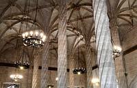 Llotja de la Seda architecture detail, Valencia, Spain