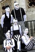 Mimes, Brussels, Belgium