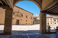 Main Square. Peñaranda de Duero, Burgos province, Castilla Leon, Spain.