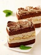 Tiramisu sponge cake.