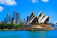 Sydney Opera House Australia New South Wales AU.