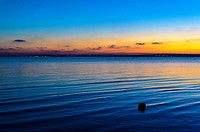 A Mediterranean sea view in Santa Pola coast, Alicante, Spain