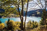 barrage de lhongrin, , valais, swiss.