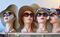 Hats and sunglasses, Paris, France