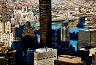 New York City, Manhattan, Skyline, Skyscrapers, 59th Street Bridge